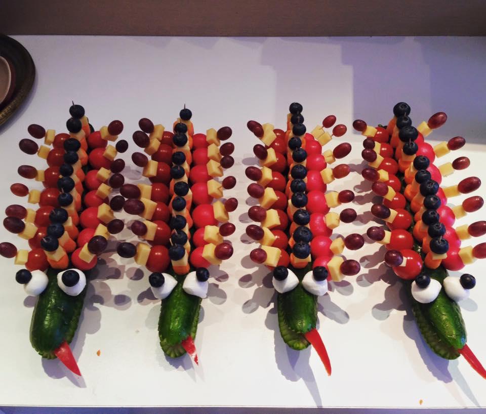 Frugtkreationer Frugtkrokodiller krokodiller