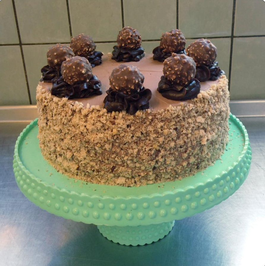 Ferrero Rocher kage