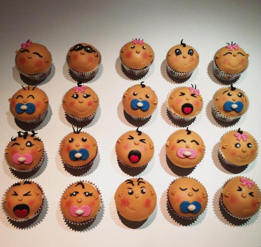 Cupcakes Babycupcakes Genderrevealcupcakes Priser