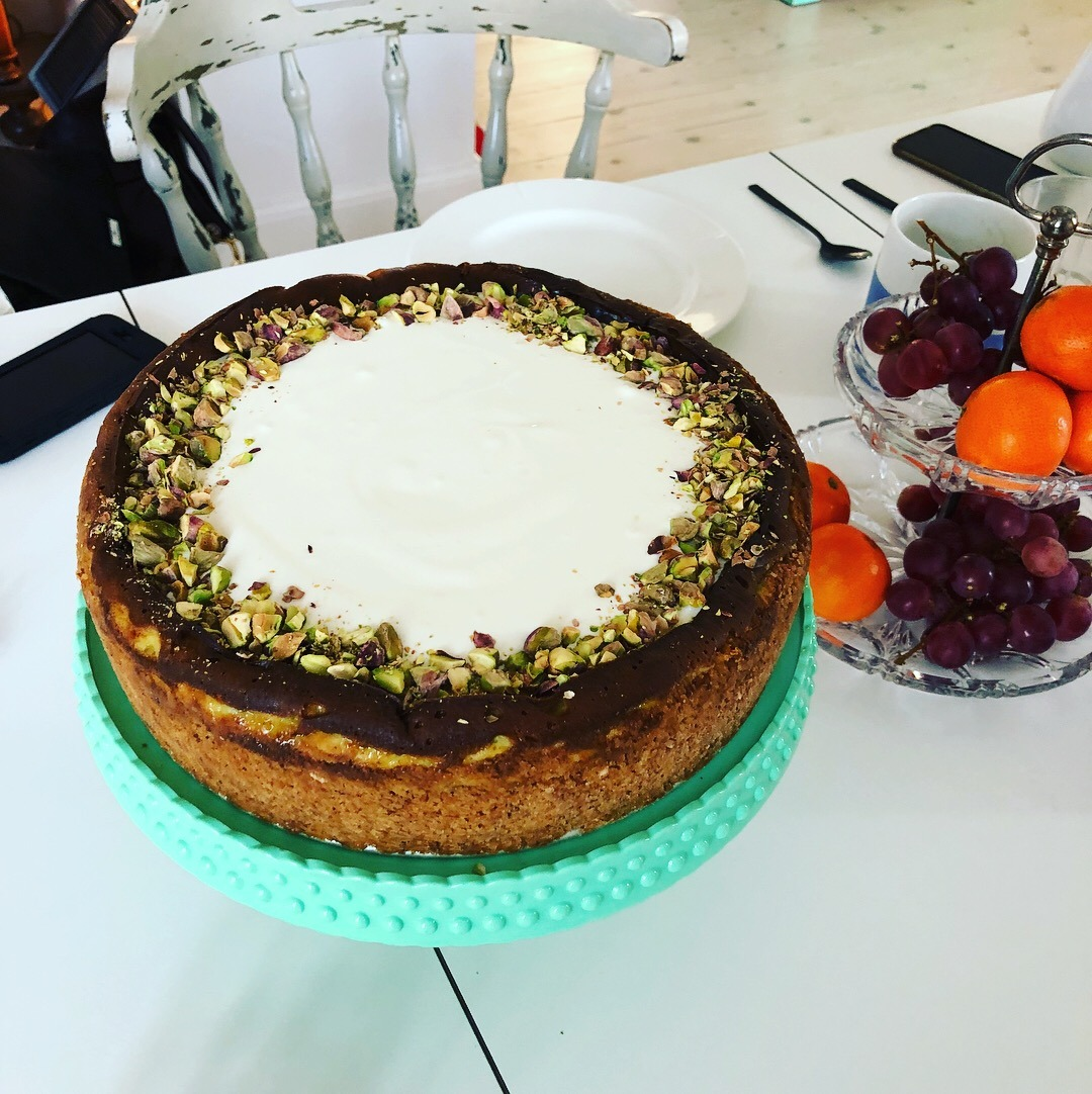 Pistacie cheesecake