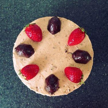 Cheesecake skildpaddecheesecake