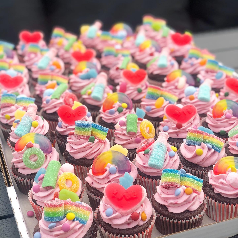 Cupcakes Slikcupcakes Festkager Bestillingskager Kage Kager