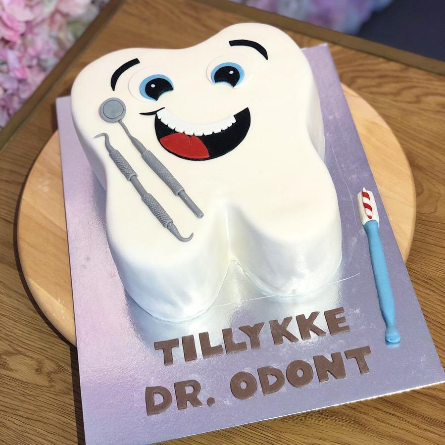 Tandkage Tandlægekage Odont kage